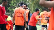 Arjun Kapoor, Abhishek Bachchan and other stars playing football match