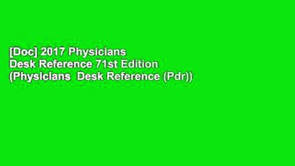 Surprising Doc 2017 Physicians Desk Reference 71St Edition Physicians Desk Reference Pdr Download Free Architecture Designs Embacsunscenecom