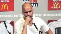 """Guardiola : """"Mahrez voulait jouer face à Liverpool"""
