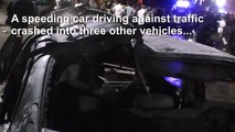 Fiery Cairo car crash claims 19 lives in Egypt