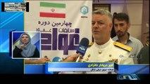 Iran Navy Chief Admiral Khanzadi: Damavand_2 with VLS, hovercraft joing  ایران دریادار خانزادی: ناوشکن دماوند_۲ سیستم عمود پرتاب