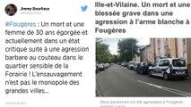 Ille-et-Vilaine. Homicide à Fougères : le suspect a avoué.