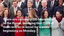 Massive delegation of Democrats arrive in Israel
