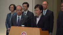 Continuation of violence will push Hong Kong 'to the verge of a very dangerous situation'