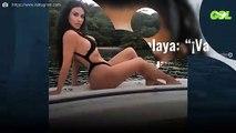 """Kim Kardashian en la playa: """"¡Va a estallar!"""". La foto inédita: """"¡Es surrealista!"""""""