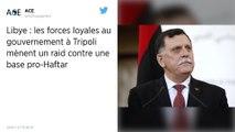 Libye : Au moins 43 morts après une frappe aérienne des forces d'Haftar