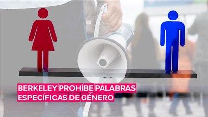Una ciudad de California prohibirá palabras específicas de género