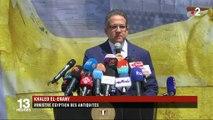 Égypte : le sarcophage de Toutânkhamon restauré au Caire