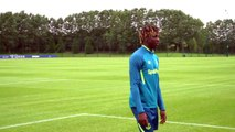 Moise Kean speaks after joining Everton from Juventus