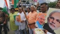 Cámara Alta india aprueba el fin del estatus especial de la Cachemira india