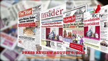CAMEROONIAN PRESS REVIEW OF AUGUST 5, 2019