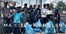 Les jeunes se mettent au défi de nettoyer leur cité à Garges-lès-Gonesses