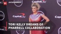 Tori Kelly Collab Goals