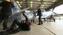Restored Spitfire sets off on round-the-world journey