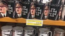 Des touristes découvrent, horrifiés, des mugs et du vin estampillés Hitler au supermarché