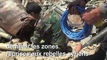 Dans la Syrie en guerre, les défis de se débarrasser des mines antipersonnel