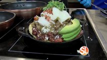 Chef Diego Bolanos from Taco Guild prepares a variety of brunch items