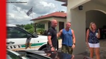Watch Emotional Moment After Two Cops Discover They Are Half-Brothers