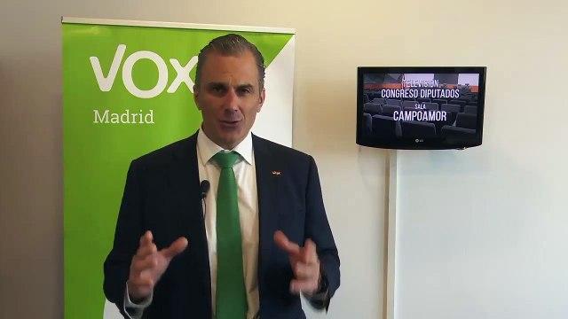 Vox pregunta al Gobierno qué medidas piensa adoptar para impedir los homenajes a etarras