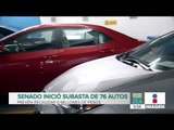 Senado inicia subasta electrónica de 76 vehículos, ¡prevé recaudar 6 mdp!   Francisco Zea