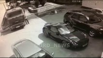 Il réussit à stopper un camion à mains nues avant qu'il ne percute une Porsche !