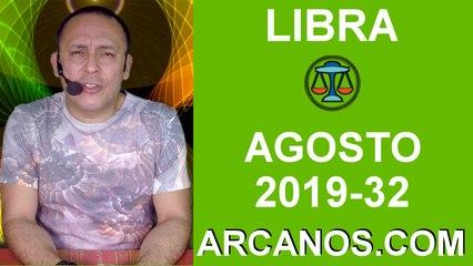 HOROSCOPO LIBRA - Semana 2019-32 Del 4 al 10 de agosto de 2019 - ARCANOS.COM