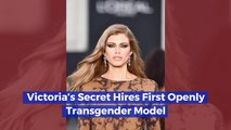 Fashion History Is Made With Victoria's Secret Transgender Model