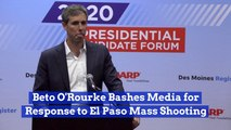 Beto O'Rourke's Anger Over The El Paso Shooting