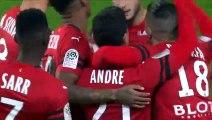 22/12/18 : Benjamin André (6') : Rennes - Nîmes (4-0)
