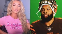 Odell Beckham Jr TROLLS Ugly Woman In The Comments Hating On His Smokeshow Girlfriend!