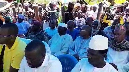 Obsèques de Dr Mamadou Barry,  à Mamou