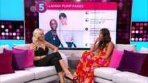 Lamar Odom's Relationship with Sabrina Parr Is 'Fake,' Source Says: 'Nothing Romantic Going On'