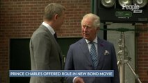 Prince Charles Is 'Considering' a Role in the Latest James Bond Film After Visiting Set: Report