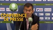 Conférence de presse SM Caen - FC Lorient (1-2) : Rui ALMEIDA (SMC) - Christophe PELISSIER (FCL) - 2019/2020