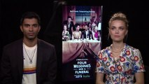 "IR Interview: Nikesh Patel & Rebecca Rittenhouse For ""Four Weddings & A Funeral"" [Hulu]]"