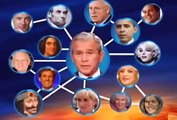 WHAT BLOODLINE RULES THE WORLD (2010) Queen Elizabeth, Bush, Cheney, Kerry,  Abe Lincoln, Churchill, Princess Diana, Tom Hanks, Madonna,  Marilyn Monroe, etc, etc
