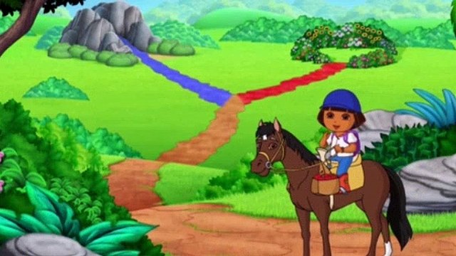 Dora the Explorer S08E09 - Doras and Sparkys Riding Adventure
