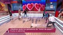 ¡Los amorosos jugaron 'Amor de papel' para obtener la inmunidad! | Enamorándonos