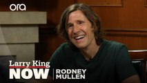 "Rodney Mullen creates ""The Larry"" skateboarding trick on Larry King Now"