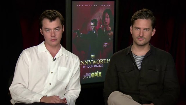 "IR Interview: Jack Bannon & Ben Aldridge For ""Pennyworth"" [EPIX]"