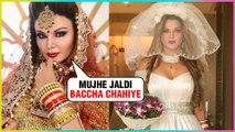 Rakhi Sawant Planning For Baby After Her Secret Marriage With An NRI
