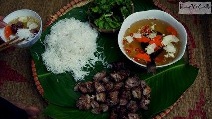 Making -Bun Cha- Which Obama President Had Eaten In Vietnam