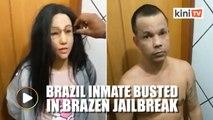Brazilian gang leader dresses up as his daughter in jailbreak attempt