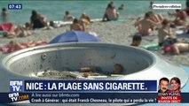 Nice bannit la cigarette de cinq de ses plages