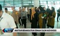 Maktour Berangkatkan Jemaah Calon Haji Khusus, Salah Satunya Wakapolda Metro Jaya