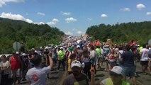 On binlerce kişi Kaz Dağları'nda birleşti