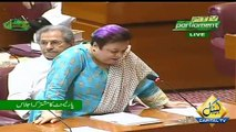 Shireen Mazari Criticized On Opposition - Pakistan Joint Parliament Session
