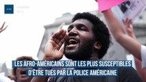 Les afro-américains sont les plus susceptibles d'être tués par la police américaine