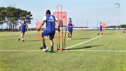 Les bleus préparent le 1er match face à Reims