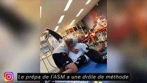 Karim Benzema passe du temps en famille - La prépa de l'ASM a une drole de méthode